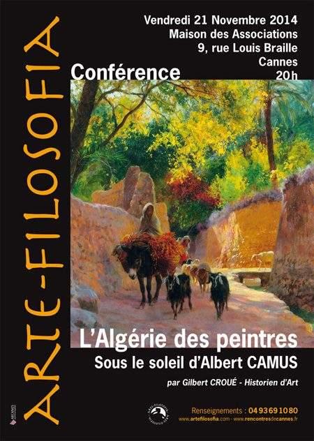 Sous Le soleil D'albert Camus «L'Algérie Des Peintres»