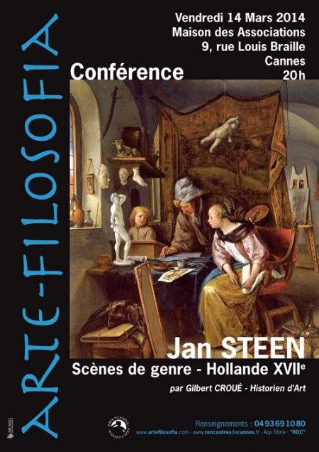 Jan Steen « Scènes De Genre – Hollande XVII ème »