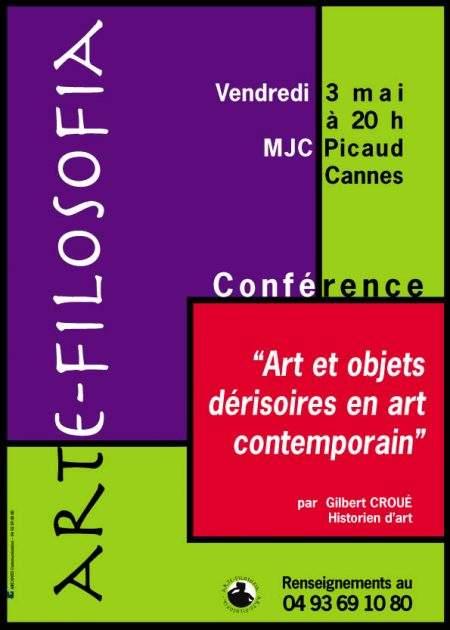 Art et objets dérisoires en art contemporain