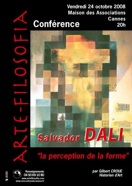 Salvador Dali «la perception de la forme»