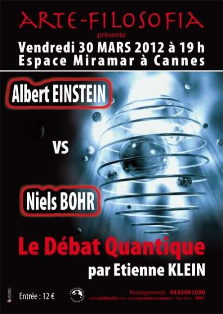Albert EINSTEIN vs Niels BOHR «Le Débat Quantique»