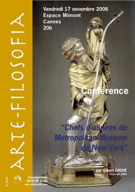 Chefs d'oeuvres du Metropolitan Museum de New-York