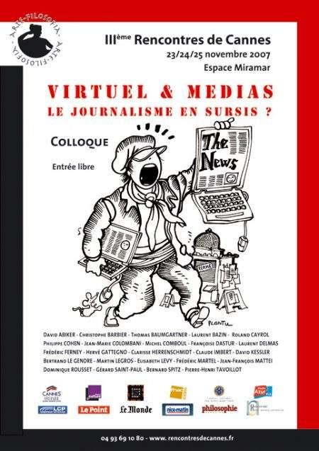 Virtuel et médias, le journalisme en sursis ?