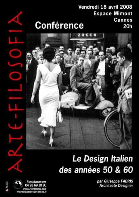 Le Design Italien des années 50 & 60