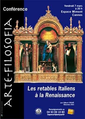 Les retables Italiens à la Renaissance