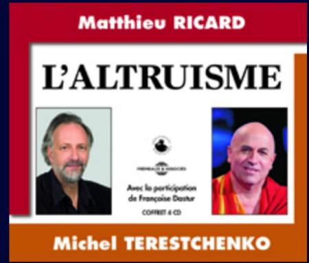 L'ALTRUISME – Coffret audio