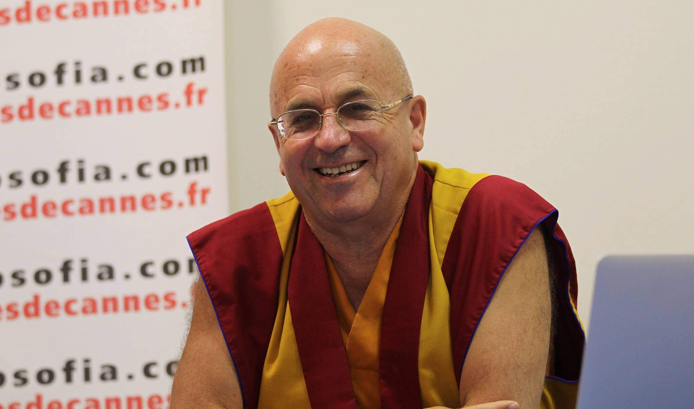 ©PHOTOPQR/NICE MATIN/HAOUZI ; CANNES 05/10/2013  le porte parole du dalai lama Mr Ricard