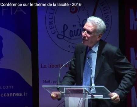 VIDÉO – Conférence d'Henri PENA RUIZ – POURQUOI LA LAÏCITÉ ?