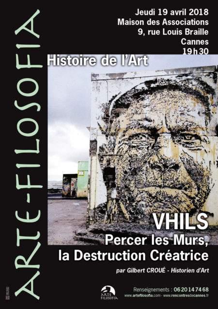 VHILS – Percer les murs, la destruction créatrice
