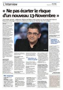 Nice-Matin interview Mohamed Sifaoui