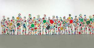 Tony Cragg 1987 Emeute diverses matieres plastiques Tate Modern Londres