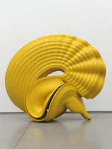 Tony Cragg 2008 Outspan 190x200x124 bronze peint Collection privée