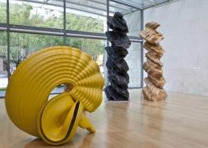 Tony Cragg 2008 trois sculptur es Fondation Beyeler, Bâle