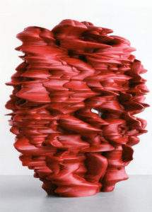 Tony Cragg 2010 Versus 280x295x100 bois peint Galerie Thaddaeus Ropac