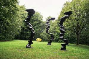 Tony Cragg jardin de la fondation Cragg Wuppertal