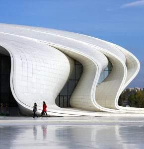 Zaha Hadid Centre culturel de Bakou 2007-2013