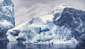 Zaria Forman 2016 Antarctica n4 Baie de s Baleines Pastel sur papier 184x144