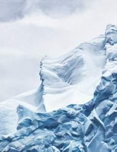 Zaria Forman Cierva-Cove Antarctica n 4 2017 pastel sur papier (détail)