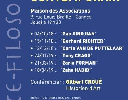 CYCLE ART CONTEMPORAIN 2018-2019