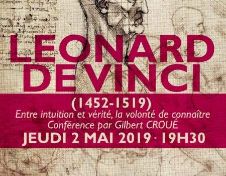 LÉONARD DE VINCI – 02/05/2019