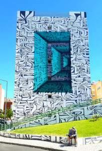 Astro 2016 Mural à Lourès Portugal 2-1