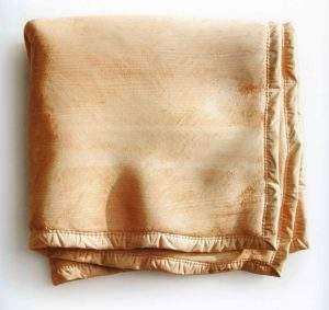 Christian Renonciat, 2001 couverture 4 plis, 70x75 bois de tilleul