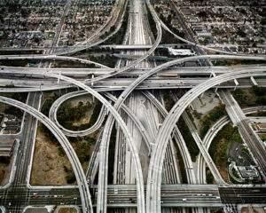Edward Burtynsky, 2003, hightway n°1, Los Angeles