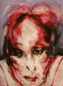 Lita Cabellut serie prostituee s Yvonne 2006 ht 200x160