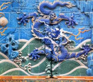Liu Bolin, dragons n° 4,