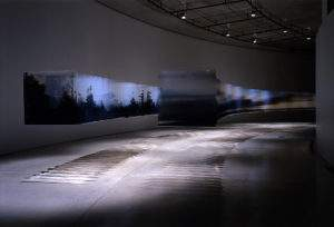 Nobuhiro Nakanishi, 2005, nuages,foret et fogg, 100 feuilles de 100x100