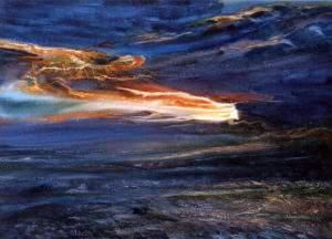 Ewa Karpinska, 2008, Atmosphe rique II, aquarelle,100x73-1