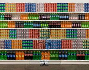 Liu Bolin, supermarket 2,