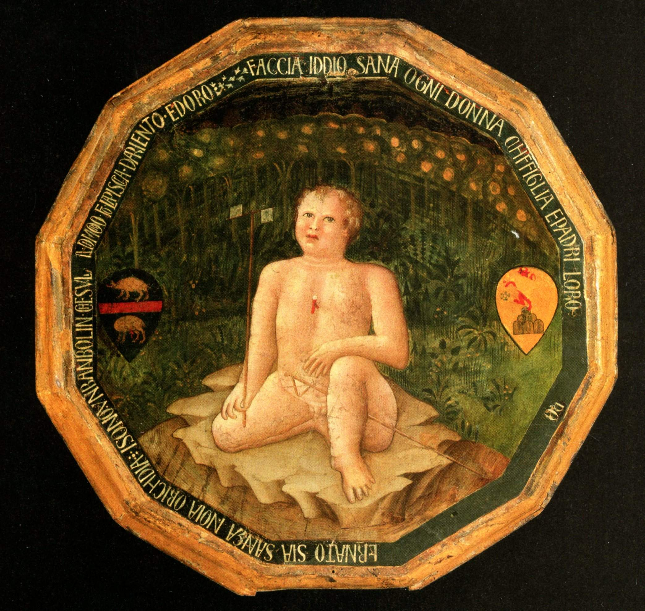 Bartolomeo Fruosino, desco da parto, 1420, Coll Privée (1)