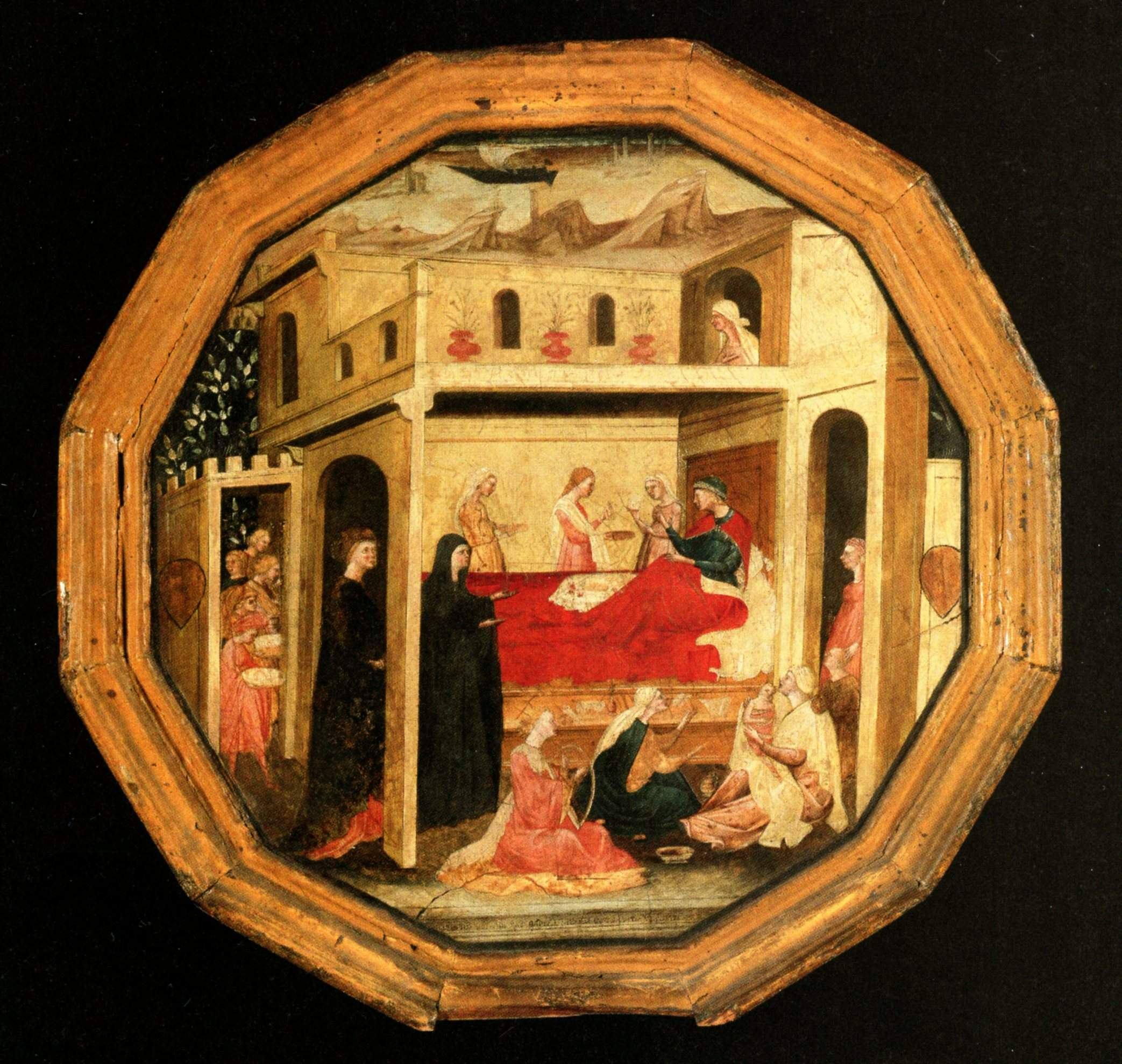 Bartolomeo Fruosino, desco da parto, 1420, Coll Privée (2)