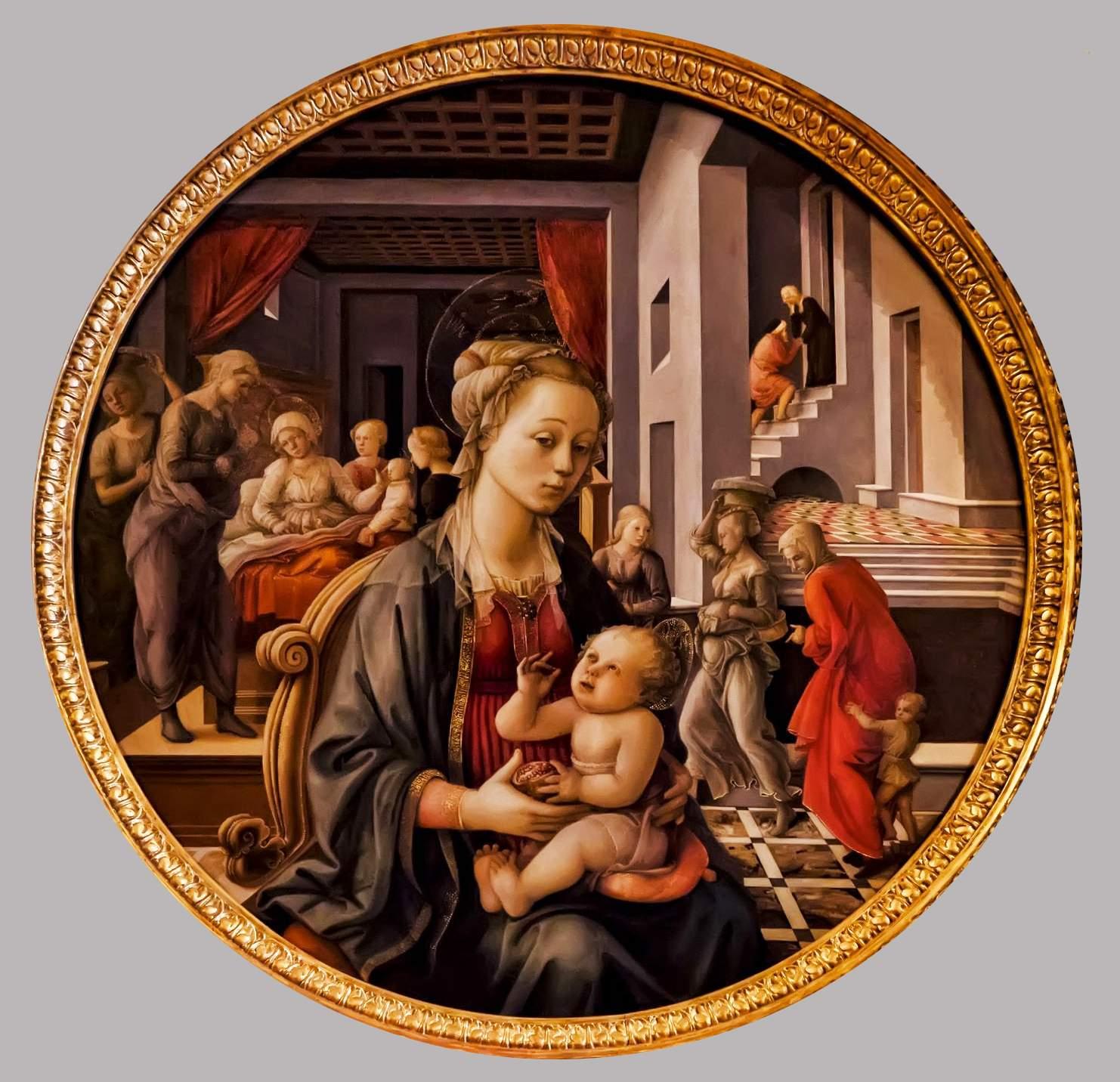 filippo-lippi-madonna-vierge-enfant-naissance-vierge-1452-huile-sur-bois-pitti-palatina-florence-italie-01 - Copie - Copie-1