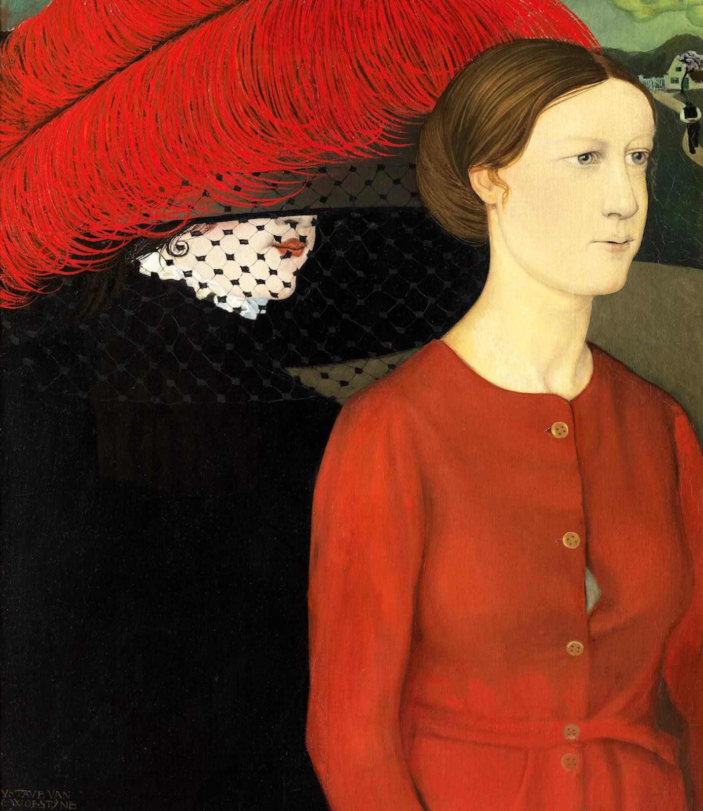 1 Gustave van de Woestyne, 1881-1947, huile sur toile, 1910, 73x63, MRBA Anvers