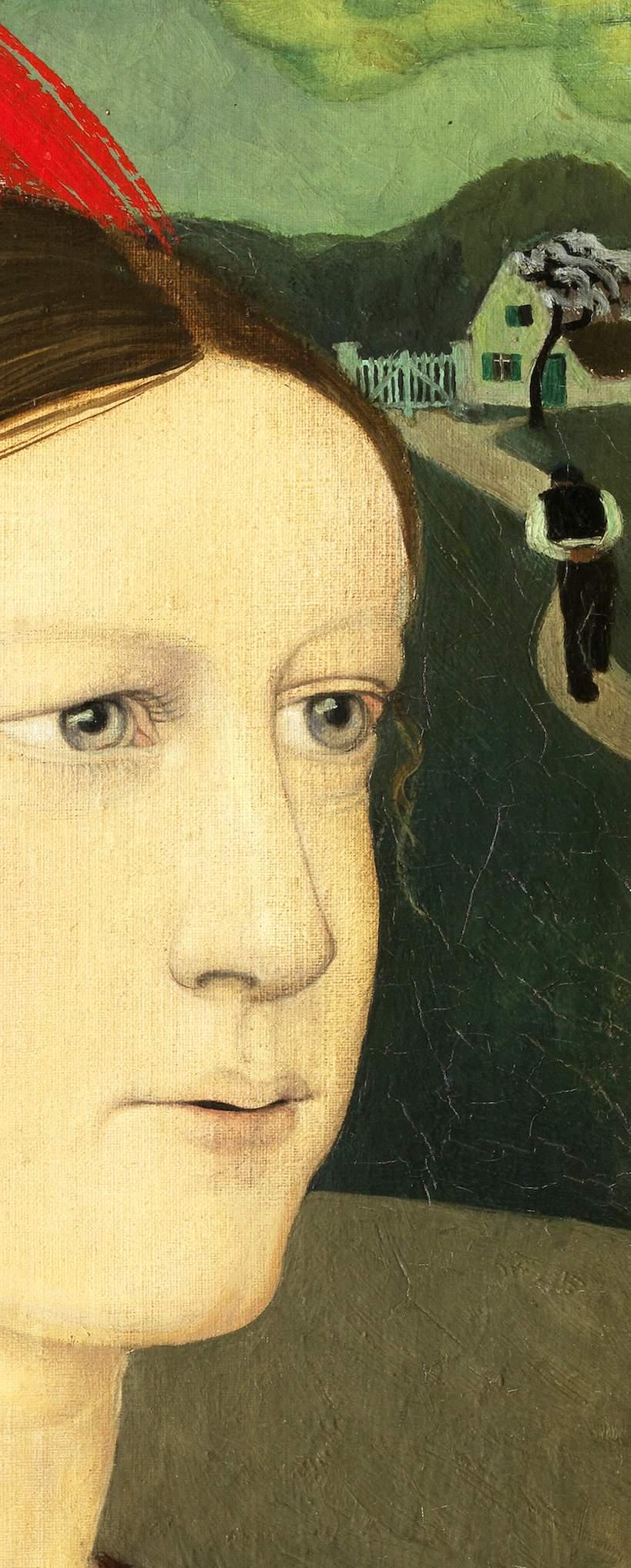 4 Gustave van de Woestyne, détail