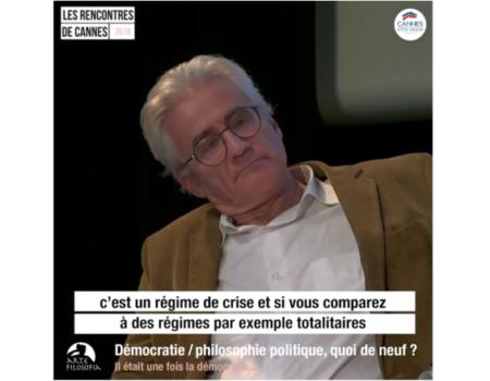 2/4 Démocratie / philosophie politique, quoi de neuf ?