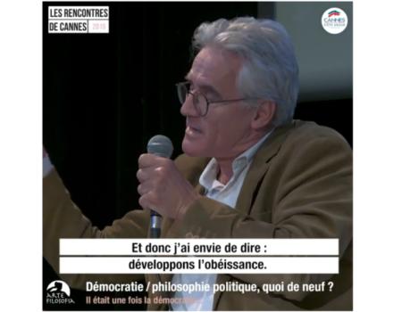 4/4 Démocratie / philosophie politique, quoi de neuf ?