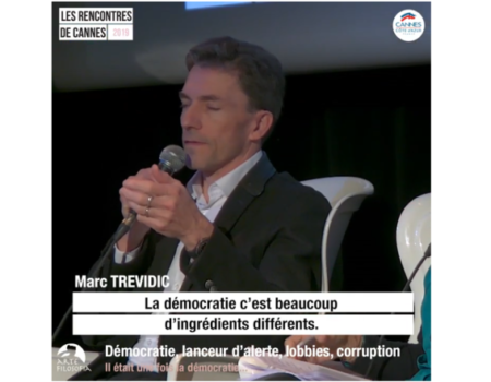 Démocratie, lanceur d'alerte, lobbies, corruption