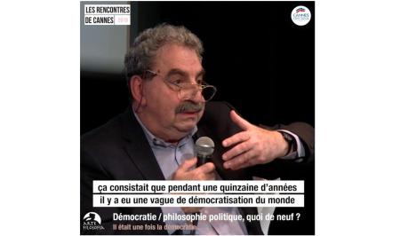 3/4 Démocratie / philosophie politique, quoi de neuf ?