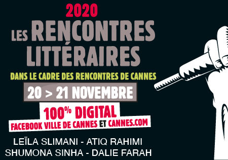 RENCONTRES DE CANNES LITTÉRAIRES – 100% DIGITAL