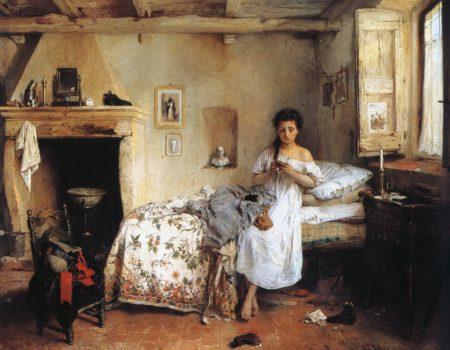 GILBERT CROUÉ – « UNE JEUNE FILLE D'ITALIE »