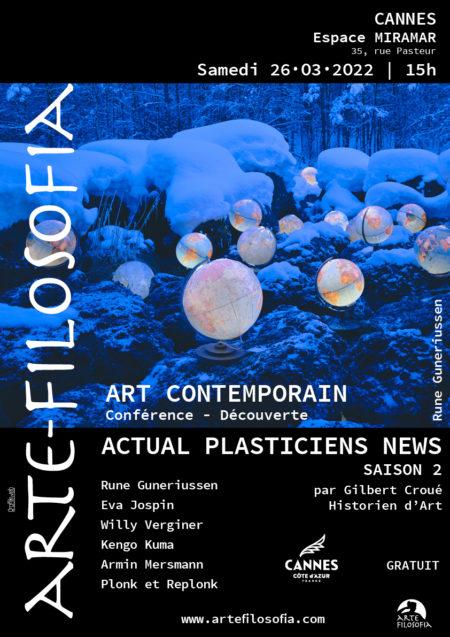 Actual Plasticien News – saison 2 – 3/5