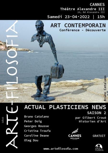 Actual Plasticien News – saison 2 – 4/5