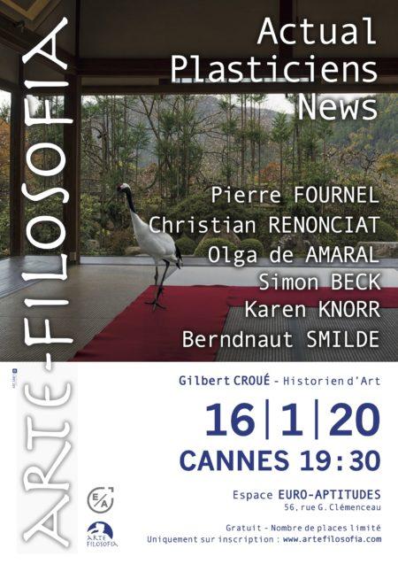 ACTUAL / PLASTICIENS / NEWS – 3/5 – Gilbert CROUÉ