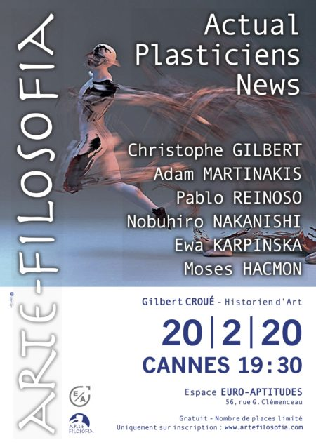 ACTUAL / PLASTICIENS / NEWS – 4/5 – Gilbert CROUÉ